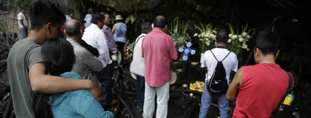 Ofrendan a los duendes del agua en Los Altos de Morelos