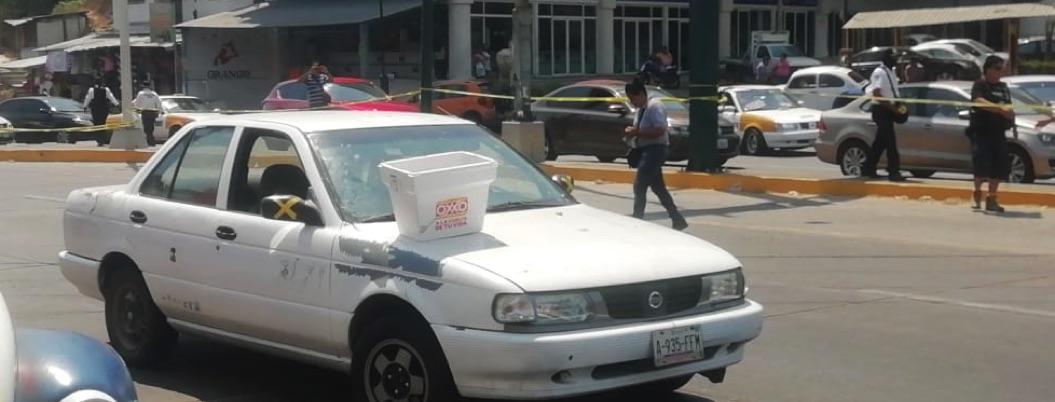 Abandonan auto con restos de hombre desmembrado en La Cima, Acapulco