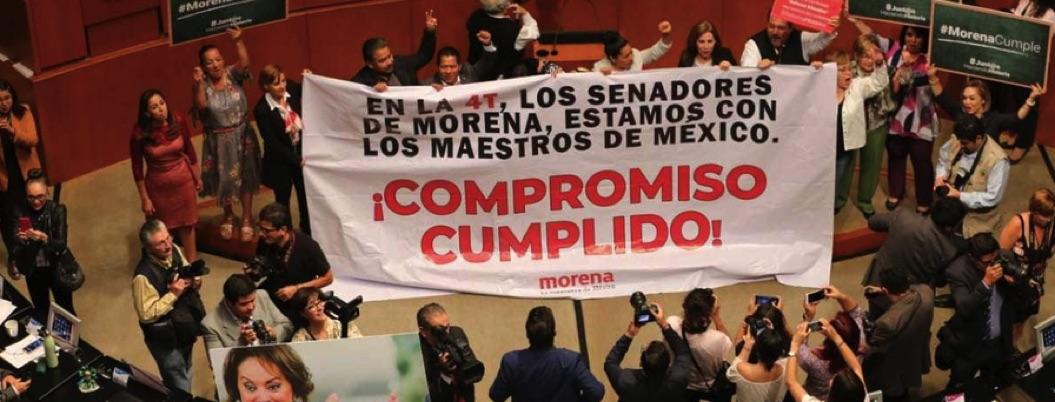 Senado avala reforma educativa; ahora le toca a congresos locales