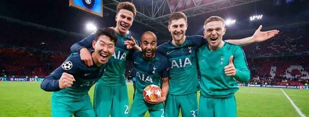 Tottenham está cerca de la gloria en Champions League
