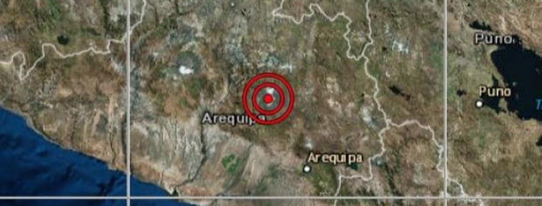 Sismo de 5,6 causa alarma en Arequipa, en el sur de Perú