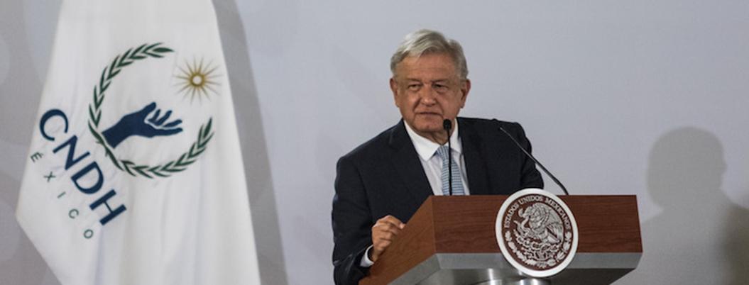 """""""CNDH recomienda que viole derechos humanos de los niños"""": AMLO"""