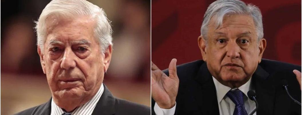 """Vargas Llosa delira: """"AMLO se perpetuará en el poder"""""""