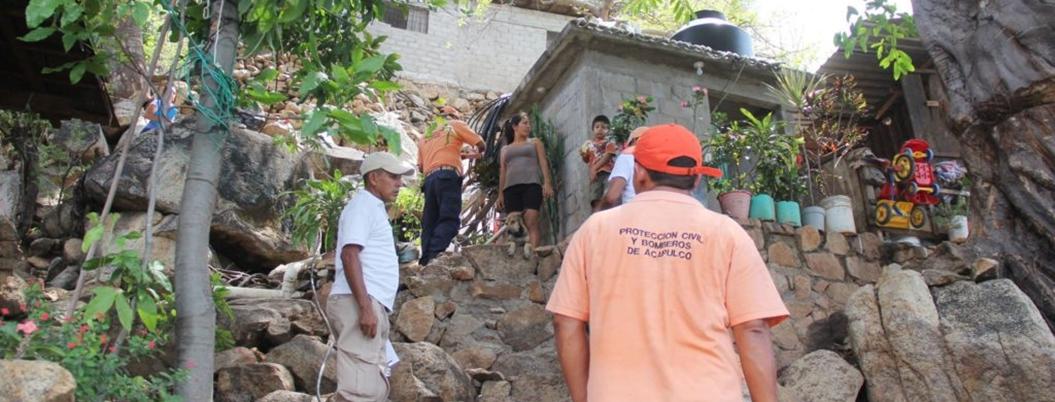 Colonias populares de Acapulco, vivir bajo riesgo en tiempos de lluvia
