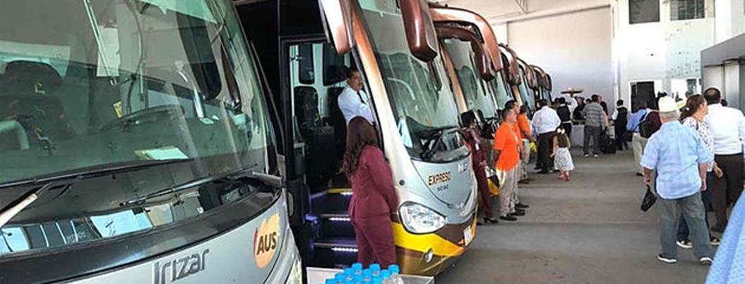 Bajan los usuarios de autobuses en Acapulco por COVID-19