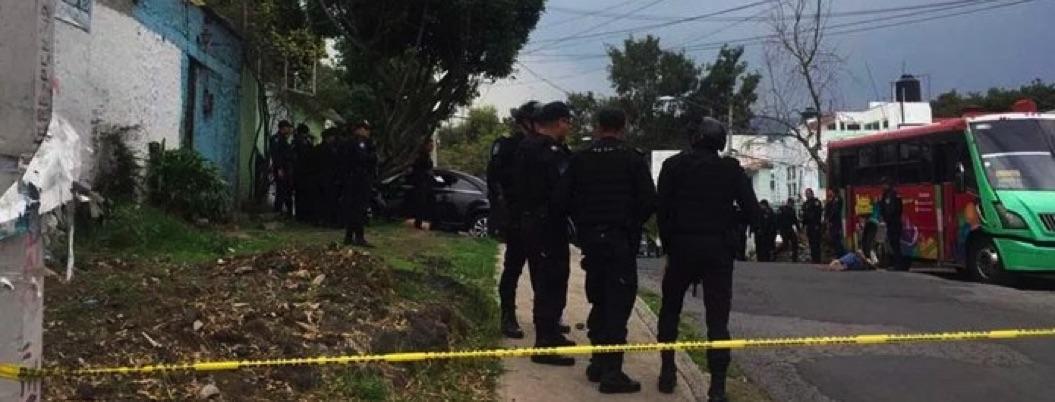 Balacera entre policías y secuestradores deja tres muertos en CDMX