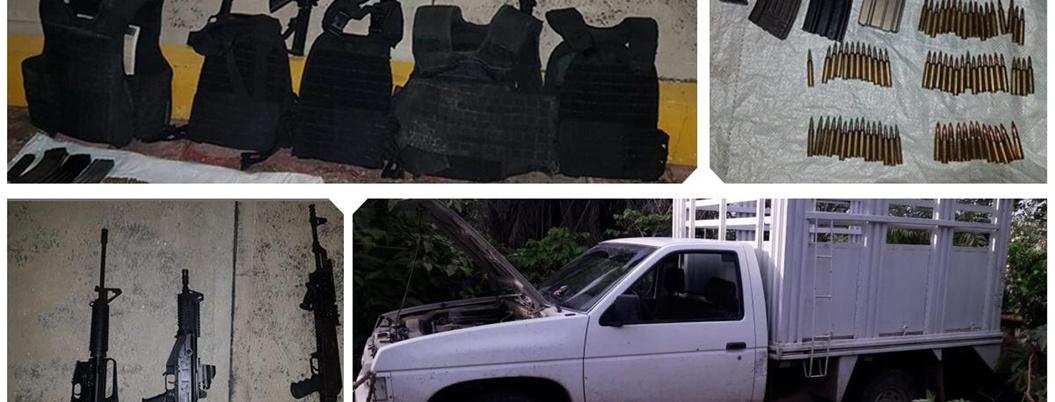 Detienen a banda de sicarios en Chilapa; hay cinco menores