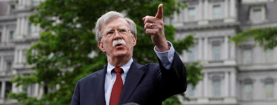 EUA dispuesto a dialogar con Irán, asegura Bolton