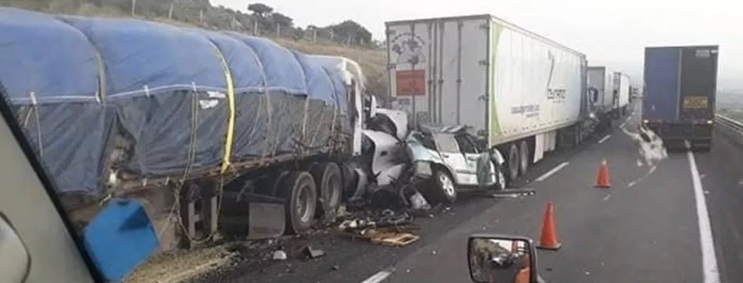 Accidentes de camiones de carga aumentan en México