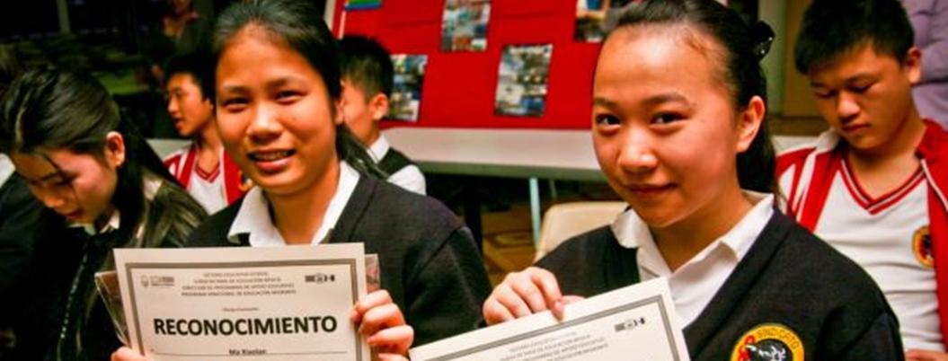 Chinos celebran obtención de residencia y trabajo en Baja California