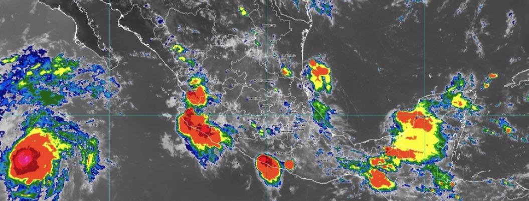 Alista paraguas: SMN prevé lluvias fuertes en Guerrero