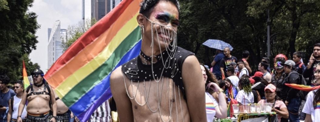 Comunidad LGBT+ clama por sus derechos en la CDMX