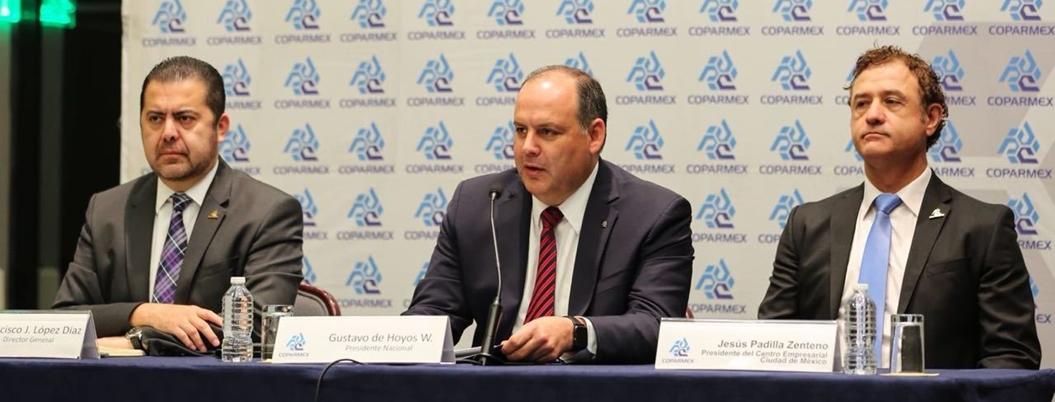 Celebra Coparmex que AMLO abra sector energético a IP