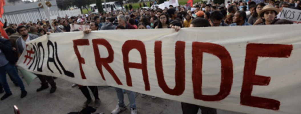 AMLO le declara la guerra al fraude electoral