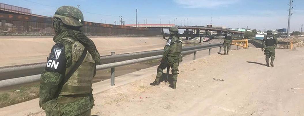 Migrantes le temen a la Guardia Nacional en Ciudad Juárez
