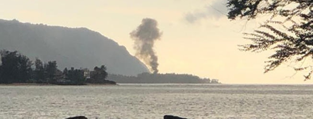 Accidente de avión deja nueve muertos en Hawái