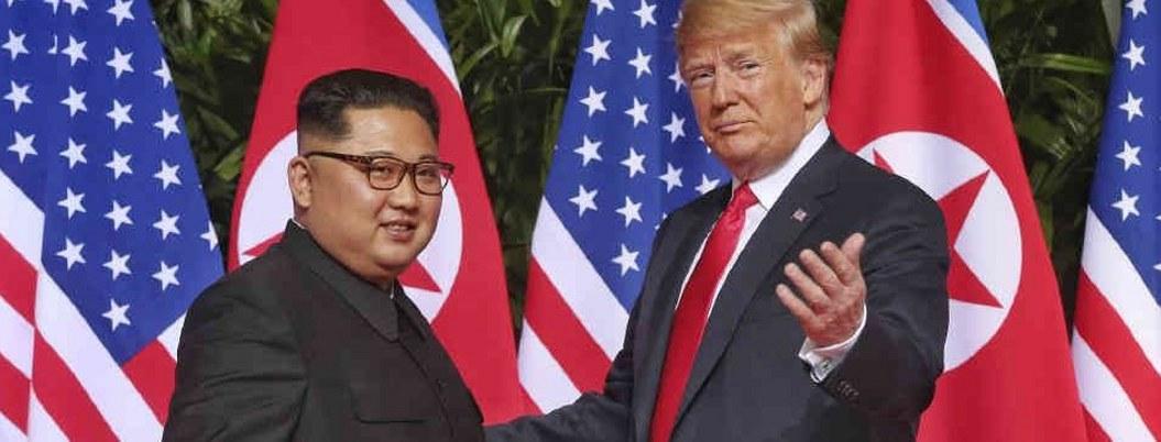 Sorpresiva cumbre entre Kim y Trump renueva diálogo entre EU-Norcorea