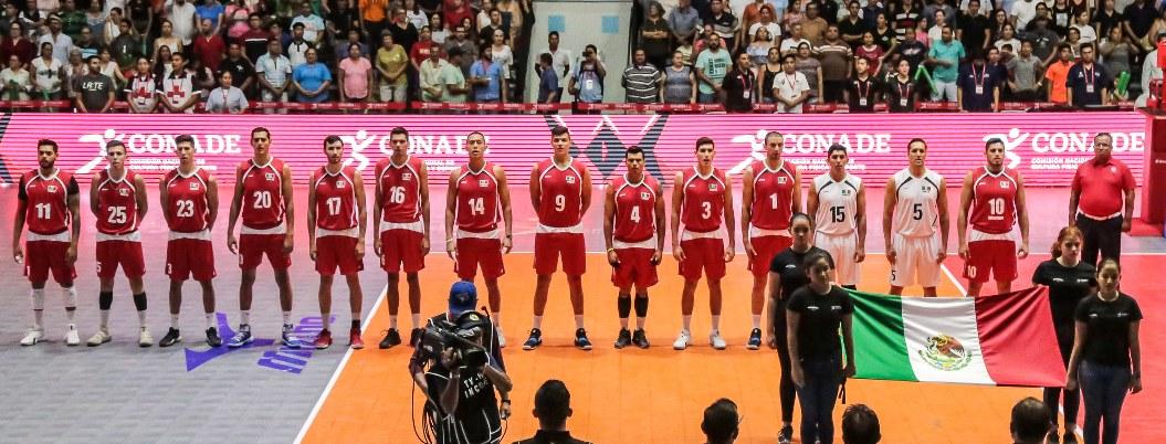 México se impone 3-0 a Trinidad y Tobago en copa de voleibol