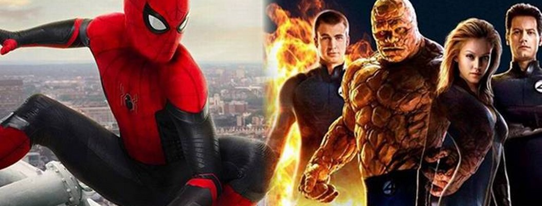 """Marvel planea reunir a """"Los 4 fantasticos"""" con el """"Hombre Araña"""""""