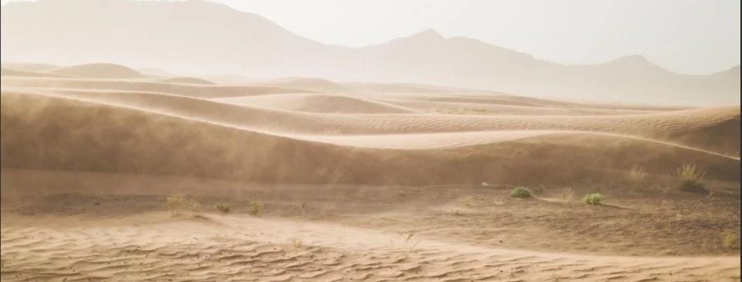 Esta es la nube de polvo del Sahara que llegó a México