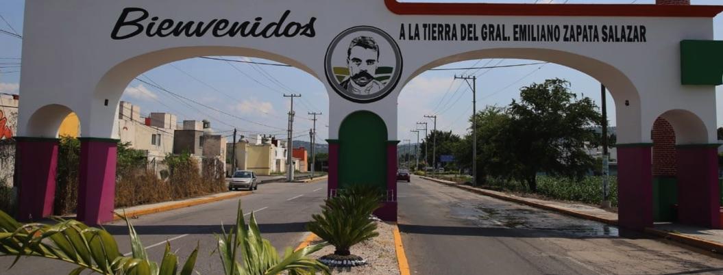 Roban estatua de Zapata en Anenecuilco, cuna del Caudillo del Sur