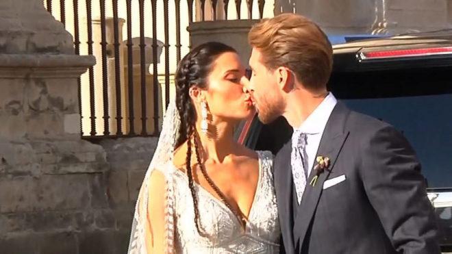 Sergio Ramos y Pilar Rubio se casan en una boda 'galáctica'