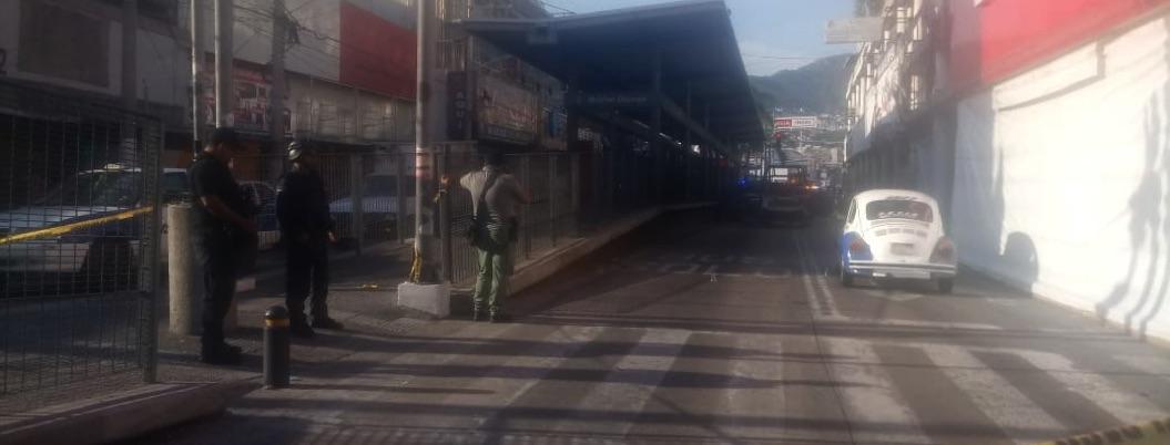 Ejecutan a taxista sobre la avenida Cuauhtémoc en Acapulco