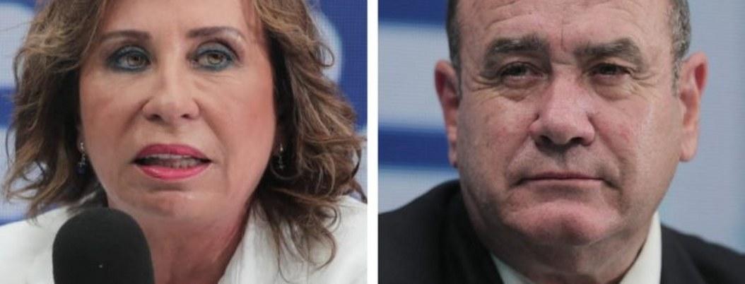 Torres y Giammattei, candidatos en segunda ronda electoral en Guatemala