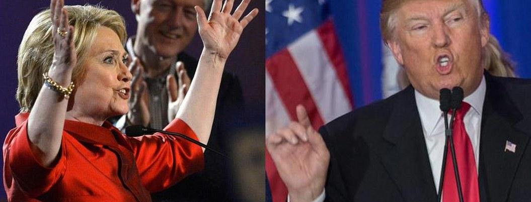 Trump prefiere a Biden como rival demócrata por encima de Clinton
