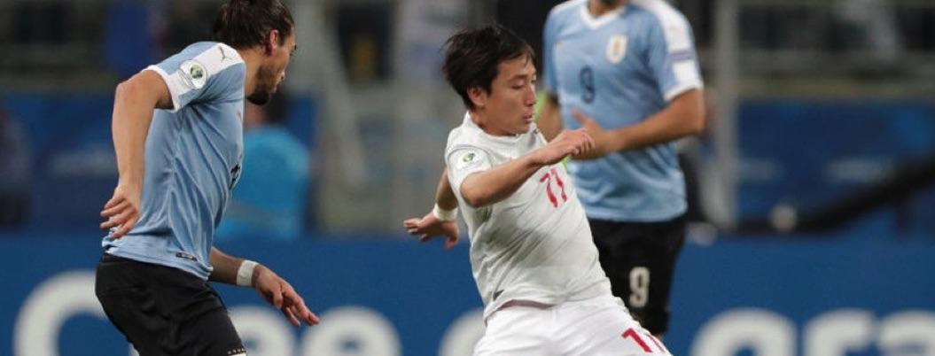 Uruguay y Japón regalan juegazo y terminan con empate a 2