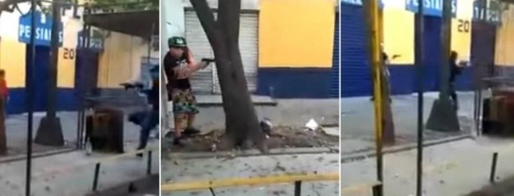 Jugar a ser sicarios, la nueva diversión de los niños de Tepito  VIDEO