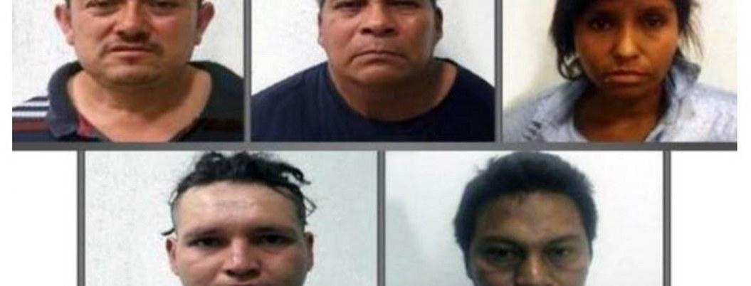Dan 60 años de cárcel a cinco secuestradores, entre ellos una mujer