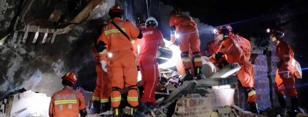 Sismo en suroeste de China deja 13 muertos y más de 200 heridos