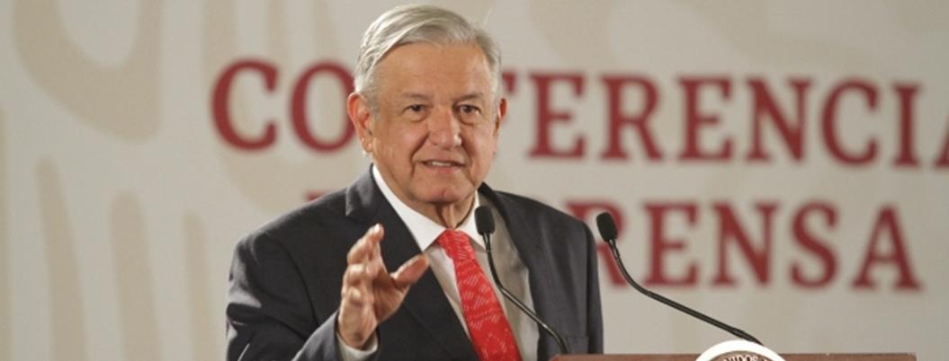 """Obrador advierte a campesinos: """"sociedad los rechazará por protestas"""""""