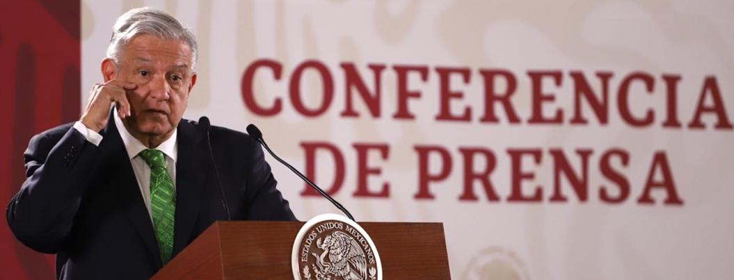 """CNDH no denunció los crímenes de Estado"", acusa Andrés Manuel"