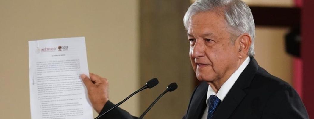 INAI publicará las cartas que AMLO envío al rey de España y al Papa