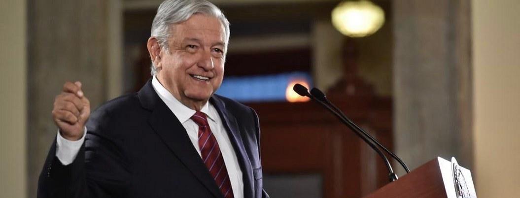 López Obrador celebra crecimiento de 0.1 % en la economía mexicana