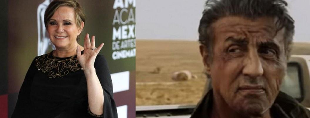 """Adriana Barraza le pone el toque mexicano a """"Rambo V"""""""