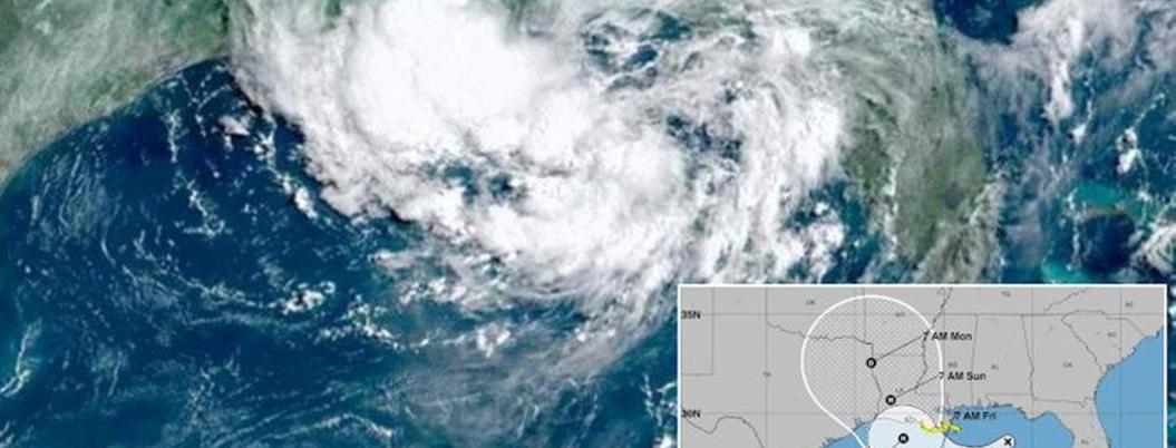 Barry, el primer huracán de la temporada en el Golfo de México