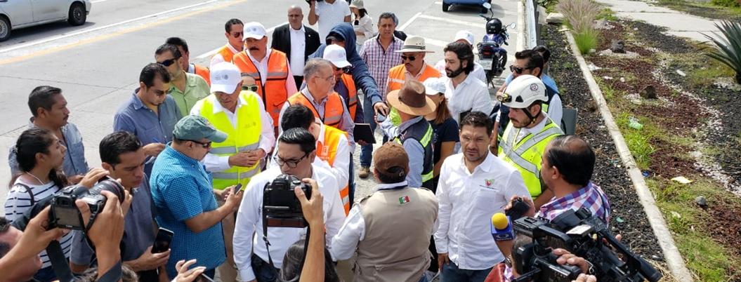 CNDH busca violaciones a derechos en fallas del Paso Exprés