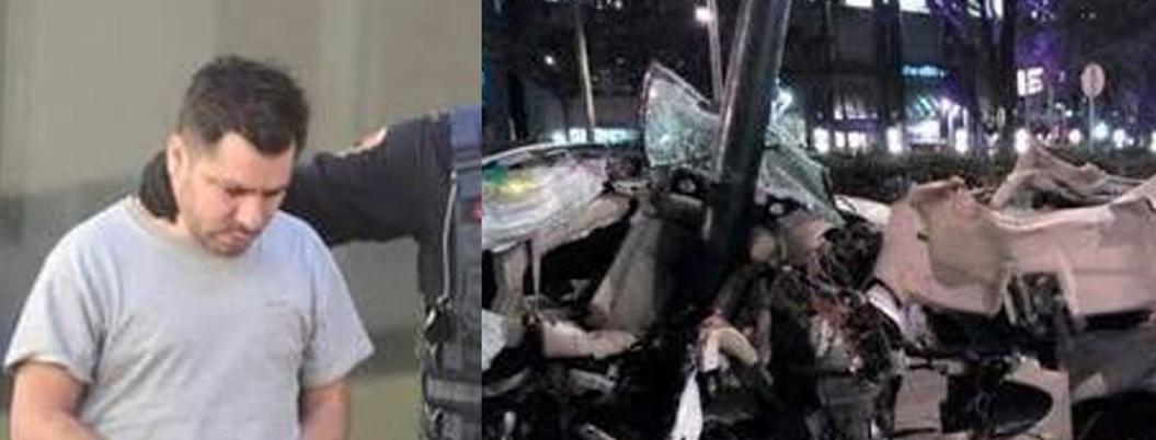 Conductor de BMW sale libre tras pagar una fianza de miseria