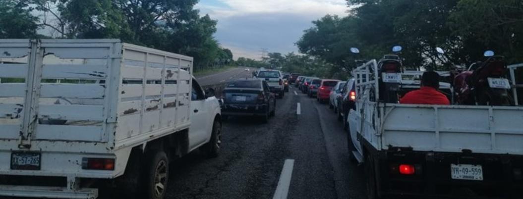 Sicarios incendian coches en Tabasco contra la Guardia Nacional
