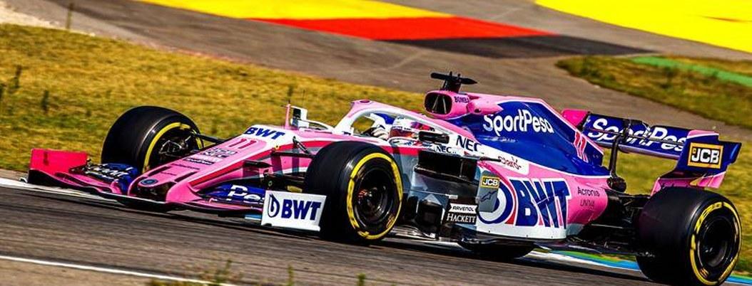 """""""Checo"""" Pérez llega décimo en segunda sesión del Gran Premio de Alemania"""