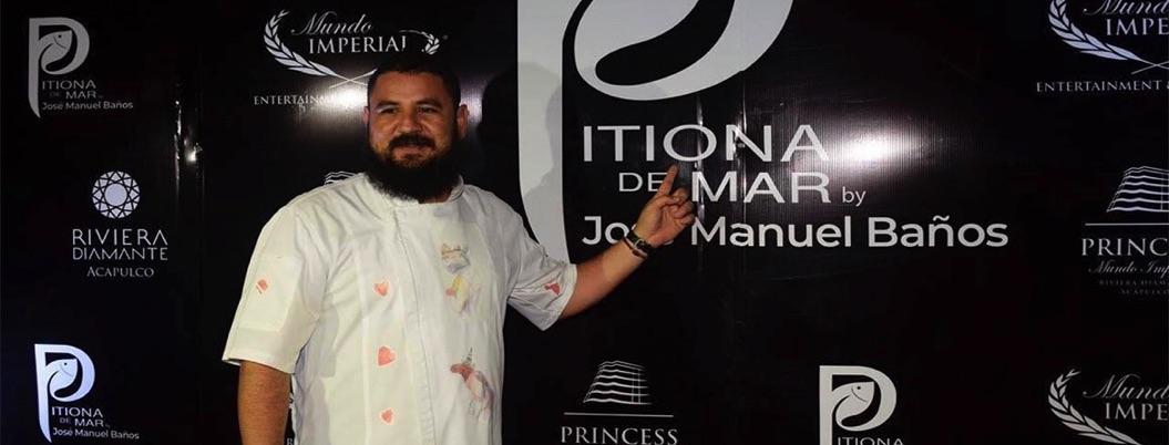 Chef José Manuel Baños abre restaurante oaxaqueño en Acapulco
