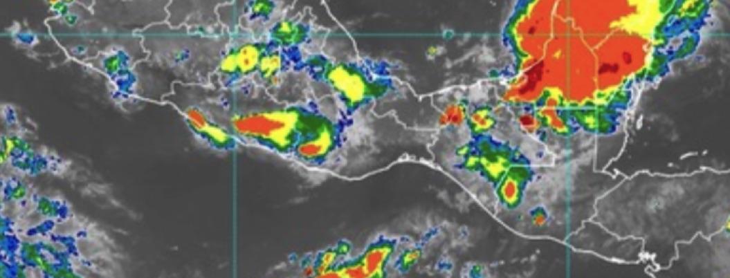 Pronostican lluvias fuertes durante la noche en Guerrero