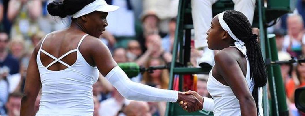 Joven de 15 años elimina de Wimbledon a la diosa Venus Williams