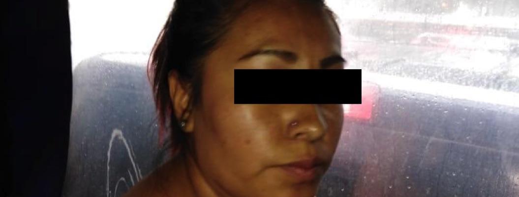 Detenida por ataque en Plaza Artz revela móvil: infidelidad de pareja