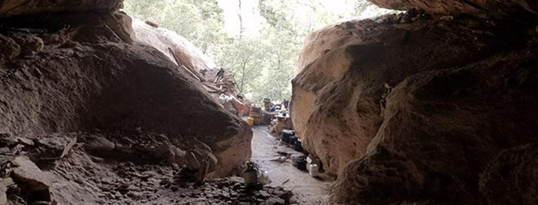 Buscaban trabajo los esclavos de narcos en cueva de Sonora