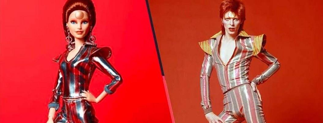Barbie inmortaliza a David Bowie con muñeca inspirada en él