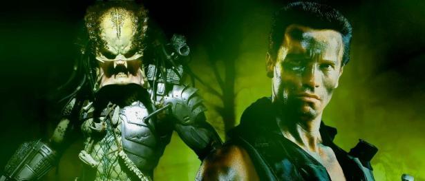 Depredador con Arnold Schwarzenegger